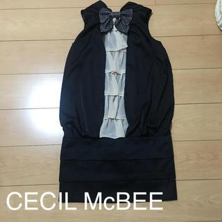 セシルマクビー(CECIL McBEE)のパーティードレス☆CECIL McBEE(ミニドレス)