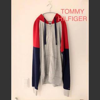 トミーヒルフィガー(TOMMY HILFIGER)のトミーヒルフィガー  ジップパーカー Lサイズ TOMMY HILFIGER(パーカー)