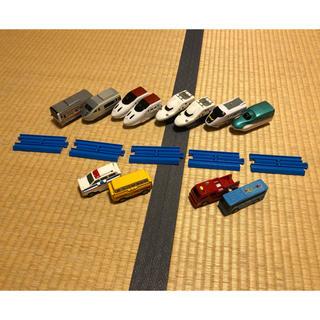 タカラトミー(Takara Tomy)のプラレール、線路セット(電車のおもちゃ/車)
