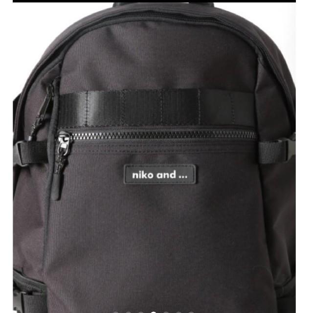 niko and...(ニコアンド)の新品未使用 nico and...リュック バックパック レディースのバッグ(リュック/バックパック)の商品写真