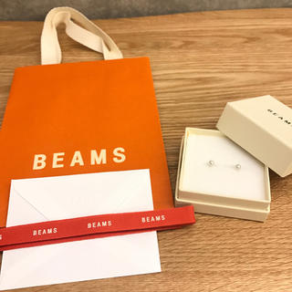 BEAMS - sale BEAMS 新品未使用 パールピアス