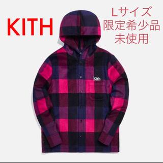 Supreme - KITH キス プレード・ギンザ・フード付シャツ