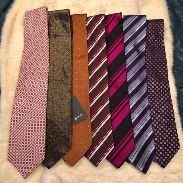 HUGO BOSS(ヒューゴボス)のダブル様専用HUGO BOSSのネクタイセット メンズのファッション小物(ネクタイ)の商品写真