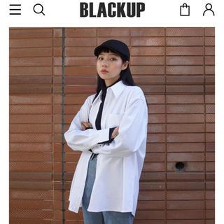 スタイルナンダ(STYLENANDA)のブラックアップ BLACKUP シャツ(シャツ/ブラウス(長袖/七分))