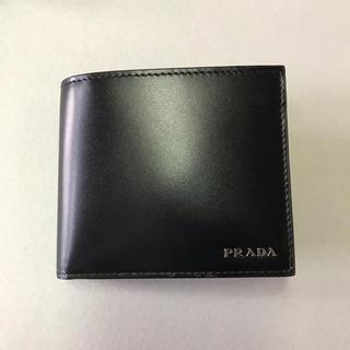 プラダ(PRADA)の【新品未使用】 PRADAプラダ 折り財布 VITELLO 2MO513(折り財布)