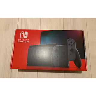 Nintendo Switch - 【新品・送料込】NintendoSwitch 本体 ニンテンドースイッチ グレー