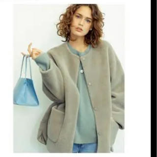 Mila Owen - 25日までちはるん様お取り置きノーカラーシャツカーブボアジャケット