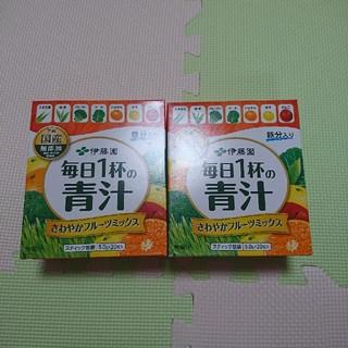 イトウエン(伊藤園)の伊藤園 青汁 ①(青汁/ケール加工食品)
