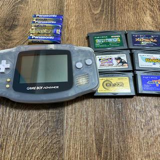 ゲームボーイアドバンス - クリアバージョン ゲームボーイアドバンス カセット 6セット