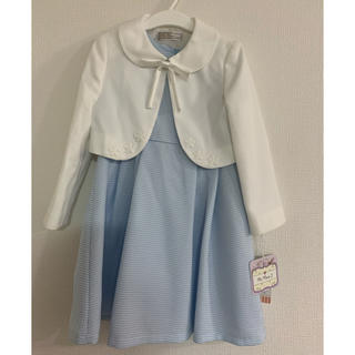 シマムラ(しまむら)の新品 女の子 110 フォーマルワンピース セット(ドレス/フォーマル)
