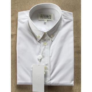 Maison Martin Margiela - 白41新品56%off メゾンマルジェラ メンズ ポプリン 長袖シャツ ホワイト