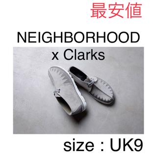 ネイバーフッド(NEIGHBORHOOD)のneighborhood x clarks Desert Trek UK9(ブーツ)