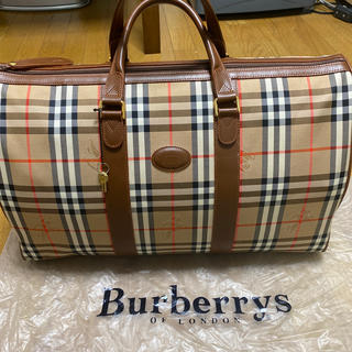 BURBERRY - burberry ボストンバック