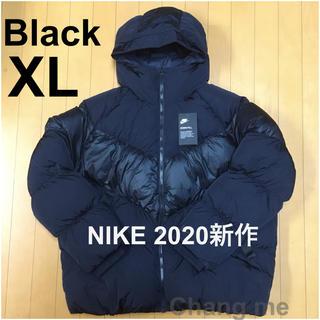 NIKE - XL NIKE 今期新作 ダウンジャケット 黒 新品同様 ナイキ