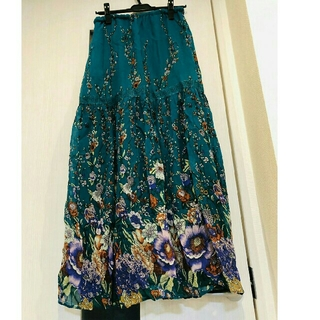 GRACE CONTINENTAL - グレースコンチネンタル グリーンスカート