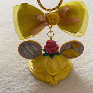 Disney - ディズニープリンセス ベル イヤーハットキーホルダー