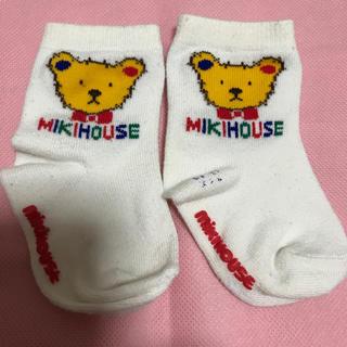 ミキハウス(mikihouse)のミキハウス 靴下   赤ちゃん 11-13サイズ (靴下/タイツ)