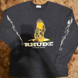 rhude 19aw ls tshirts