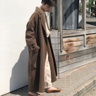 TODAYFUL - TODAYFUL Over Check Coat 38