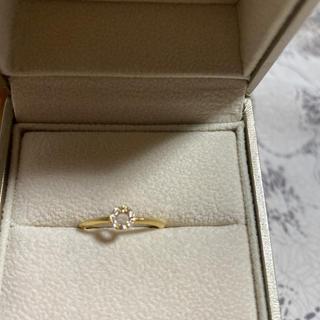 アガット(agete)のアガット k18 ダイヤモンドリング(リング(指輪))
