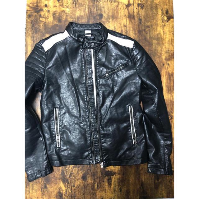 ZARA(ザラ)のZARA メンズ 革ジャン メンズのジャケット/アウター(レザージャケット)の商品写真