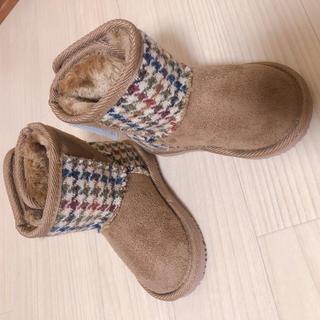 シマムラ(しまむら)のムートンブーツ しまむら 新品未使用 13cm(ブーツ)