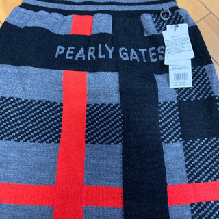 PEARLY GATES - パーリーゲイツ今期モヘアスカート新品サイズ0