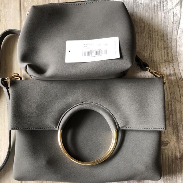 fifth(フィフス)の新品❤️サークルバックルクラッチ3wayバッグ レディースのバッグ(クラッチバッグ)の商品写真
