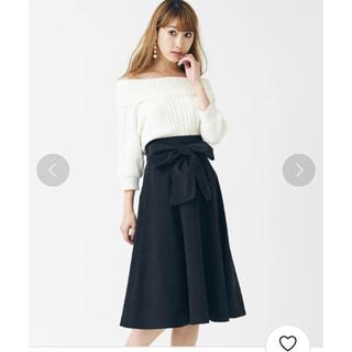 ティティアンドコー(titty&co)の【新品タグ付き】ハイウエスト♡リボンスカート(ロングスカート)