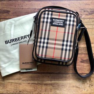 BURBERRY - 新品 バーバリー ヴィンテージチェック ショルダーバッグ