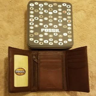 フォッシル(FOSSIL)のFOSSIL 三折財布(折り財布)