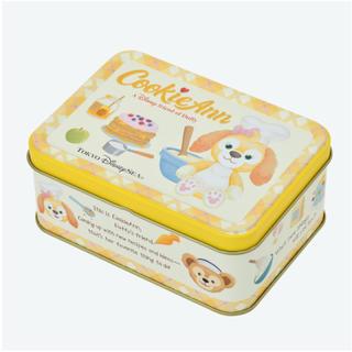 ダッフィー(ダッフィー)の【未開封】 クッキー・アン クッキー缶(菓子/デザート)