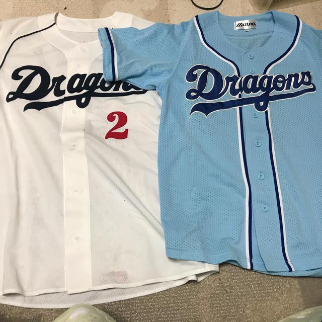 中日ドラゴンズ(チュウニチドラゴンズ)の中日ドラゴンズユニホーム スポーツ/アウトドアの野球(応援グッズ)の商品写真