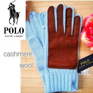 Ralph Lauren - 新品 セール★ ポロラルフローレン 羊革カシミヤウール手袋 お誕生日 贈り物に