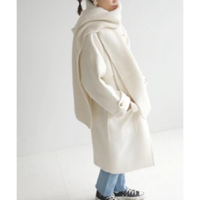 IENA SLOBE(イエナスローブ)のニットマフラー レディースのファッション小物(マフラー/ショール)の商品写真
