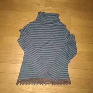 イッカ(ikka)のikka  ハイネック長袖Tシャツ(Tシャツ(長袖/七分))