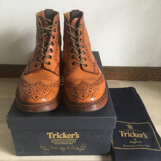 Trickers - Tricker's COUNTRY BOOTS 7ハーフ