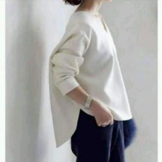 ENFOLD - 【美品・大人気】ENFOLD 長谷川京子さん着用 バナナスリーブプルオーバー
