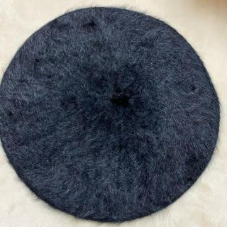 グレイル(GRL)の【新品未使用】グレイル ファー ベレー帽(ハンチング/ベレー帽)