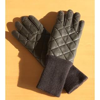 UNIQLO - UNIQLO  グローブ 手袋 ダークブラウン レディース