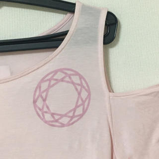 feelcycle 肩あきTops(Tシャツ(半袖/袖なし))