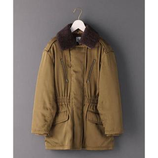 BEAUTY&YOUTH UNITED ARROWS - <6(ROKU)>BOA COLLAR ZIP COAT/コート