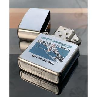 ジッポー(ZIPPO)の超レア!!★1982年製★ ジッポー SAN FRANCISCO(中古)(タバコグッズ)