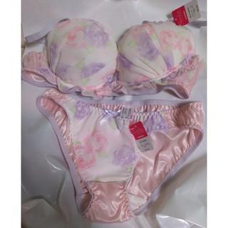 ブラセット ピンク♥(ブラ&ショーツセット)