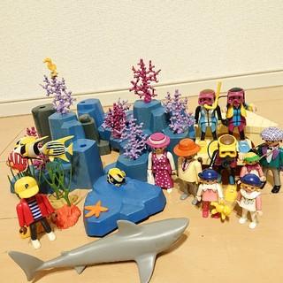 Lego - プレイモービル★水族館?セット