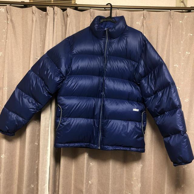 STUSSY(ステューシー)のstussyダウン Lサイズ メンズのジャケット/アウター(ダウンジャケット)の商品写真