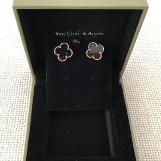 Van Cleef & Arpels - ヴァンクリーフ&アーペル ヴィンテージ アルハンブラ ピアス