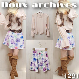 Doux archives - ♡コーデ売り1291♡トップス×スカート