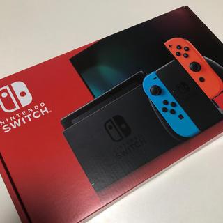 ニンテンドースイッチ(Nintendo Switch)のNintendo Switch JOY-CON(L) ネオンブルー/(R) ネオ(家庭用ゲーム機本体)