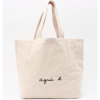agnes b. - 【新品タグ付き】アニエスベー ボヤージュ コットン トートバッグ  アイボリー